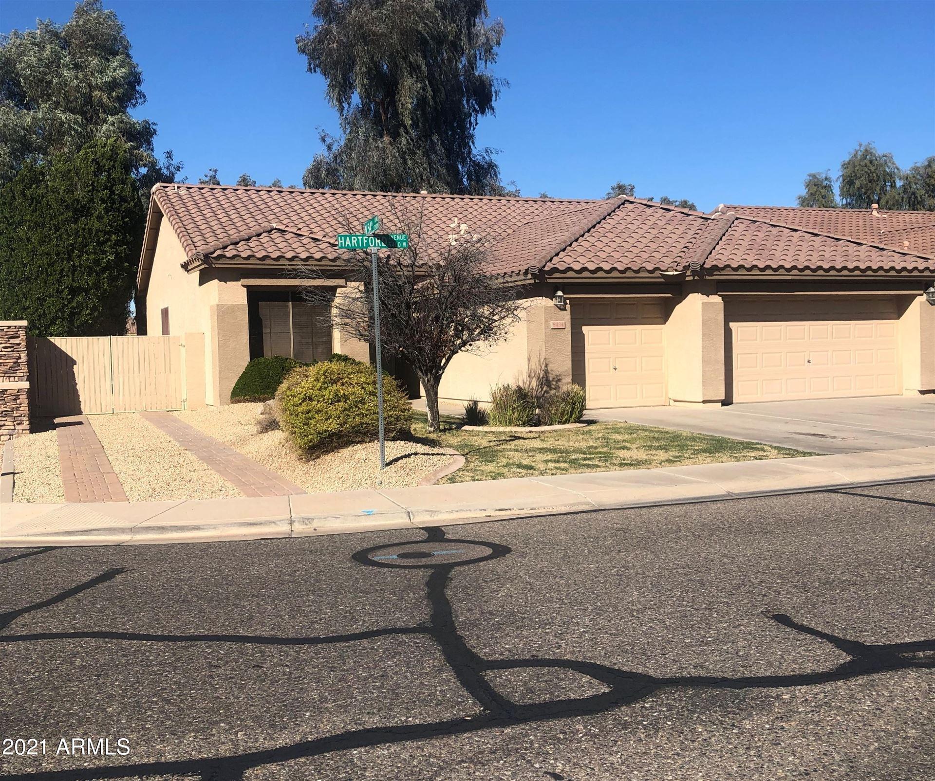 Photo of 5434 W Hartford Avenue, Glendale, AZ 85308 (MLS # 6200460)