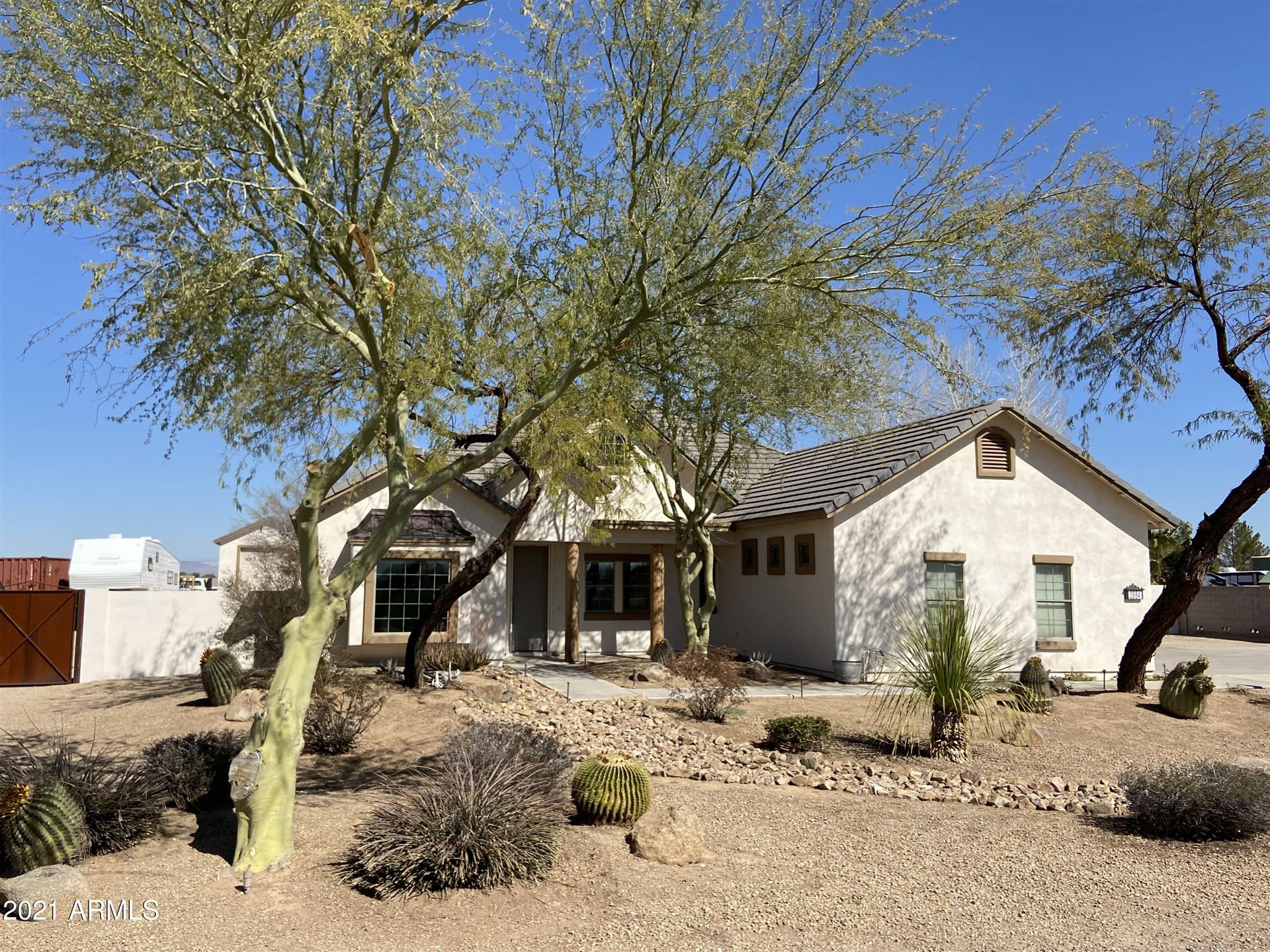 Photo of 2984 E HORSE MESA Trail, San Tan Valley, AZ 85140 (MLS # 6203470)