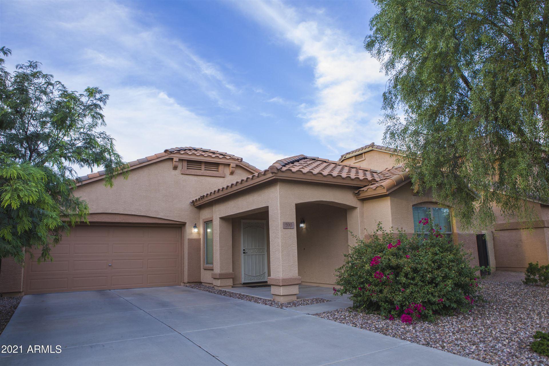 Photo of 590 E Press Road, San Tan Valley, AZ 85140 (MLS # 6303485)