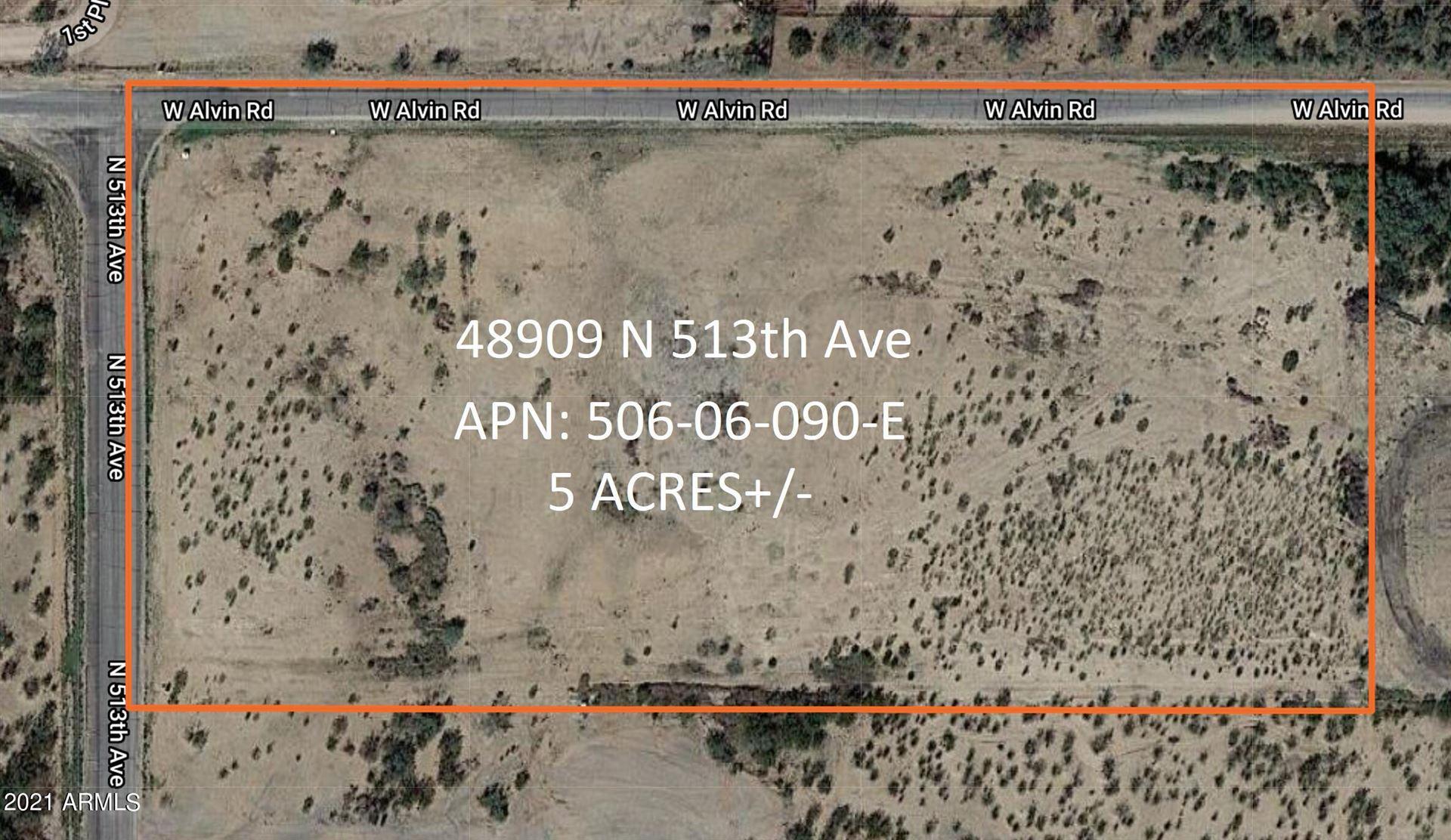 Photo of 48909 N 513TH Avenue, Aguila, AZ 85320 (MLS # 6303486)