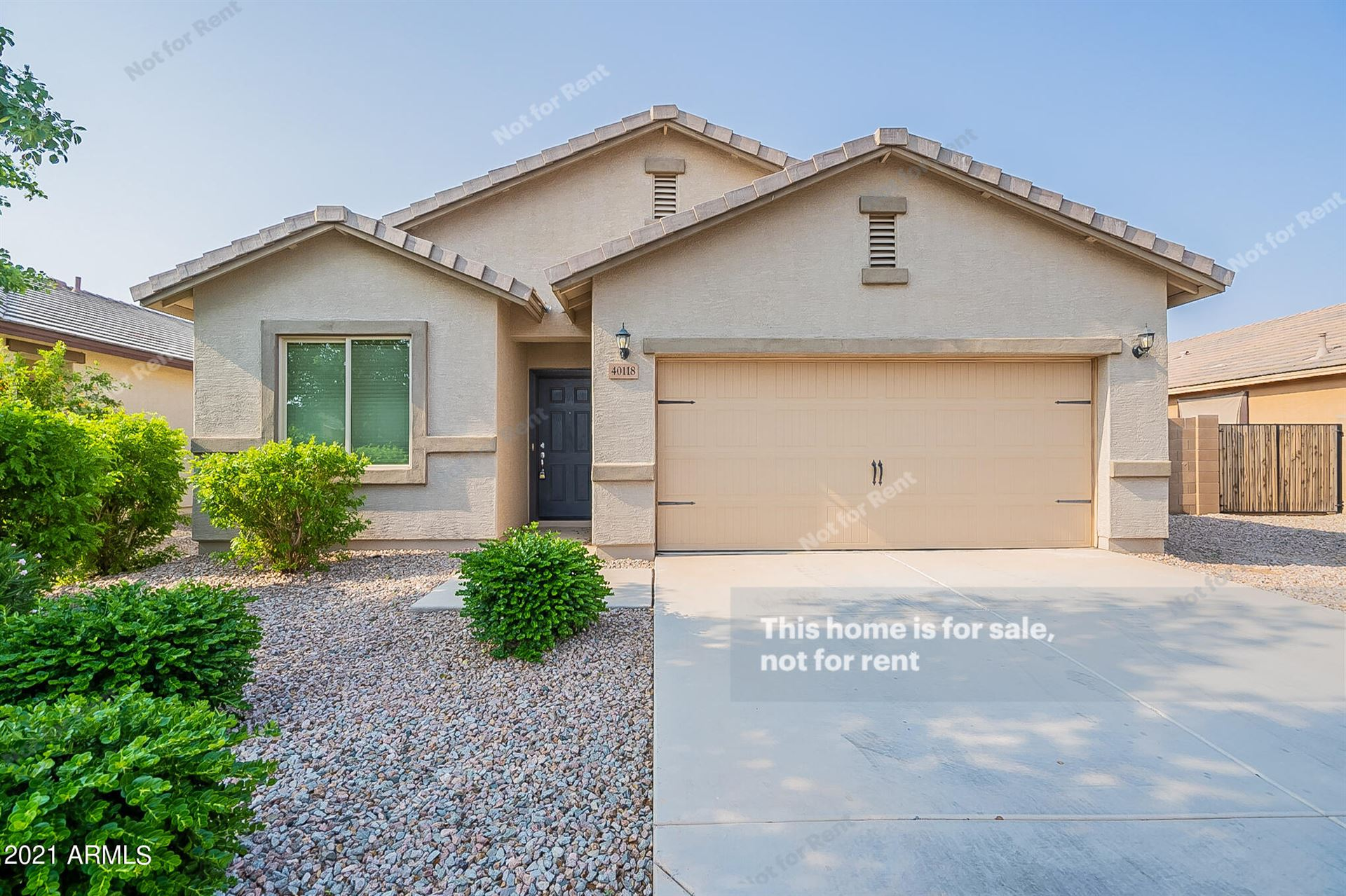 Photo for 40118 W Walker Way, Maricopa, AZ 85138 (MLS # 6290513)