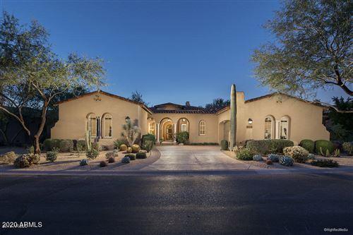 Photo of 9528 E MOUNTAIN SPRING Road, Scottsdale, AZ 85255 (MLS # 6173516)