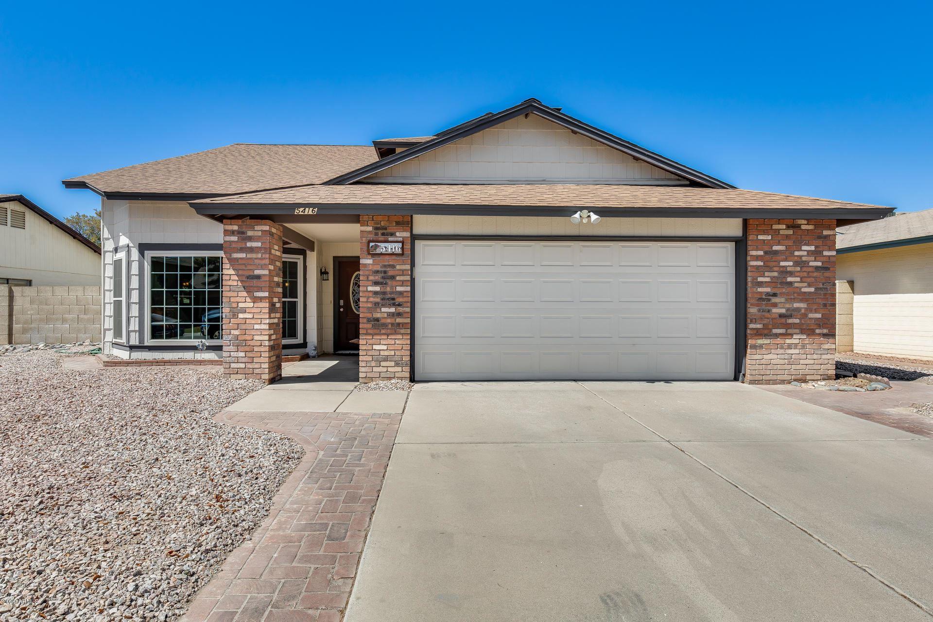 5416 W DESERT HILLS Drive, Glendale, AZ 85304 - #: 6114519