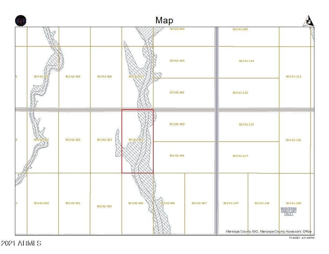 Photo of 308XX W SMOKE HOUSE Trail, Wittmann, AZ 85361 (MLS # 6264527)