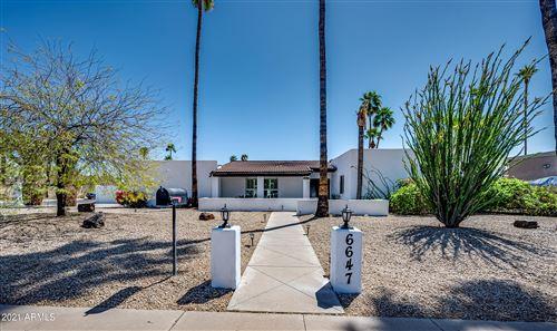 Photo of 6647 E PRESIDIO Road, Scottsdale, AZ 85254 (MLS # 6217534)