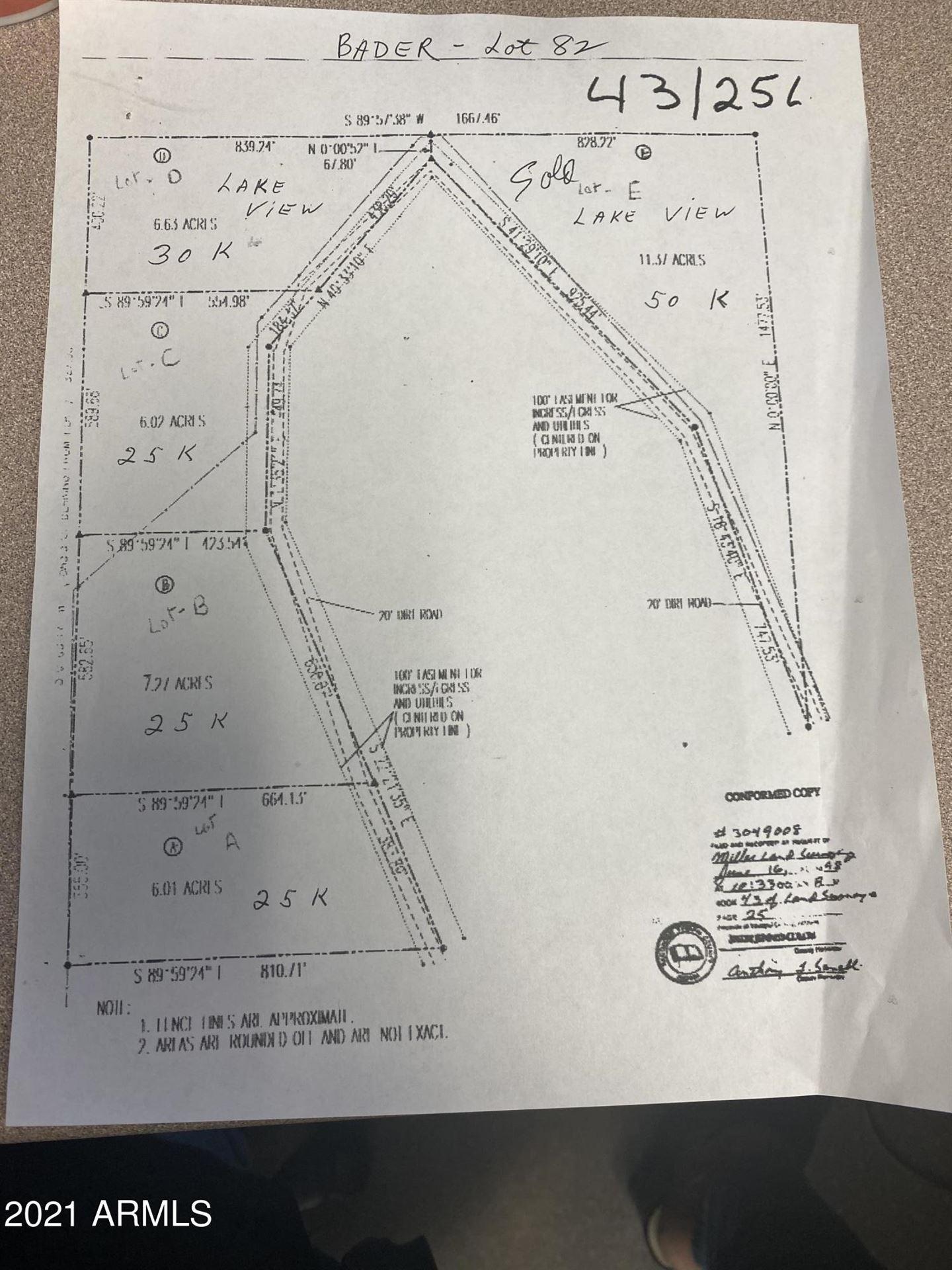 Photo of 00XXX N Columbia Mine Trail Road, Morristown, AZ 85342 (MLS # 6283542)