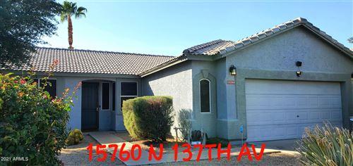 Photo of 15760 N 137TH Avenue, Surprise, AZ 85374 (MLS # 6308552)