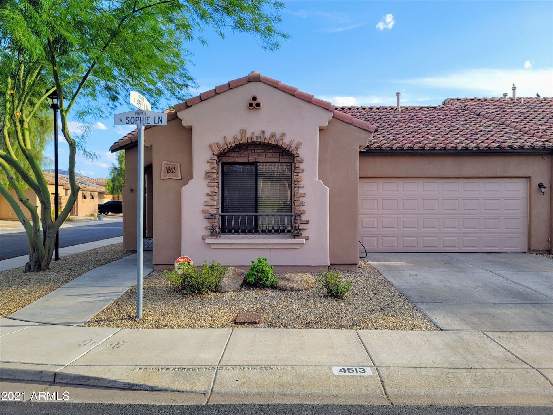 Photo of 4513 W SOPHIE Lane, Laveen, AZ 85339 (MLS # 6292571)