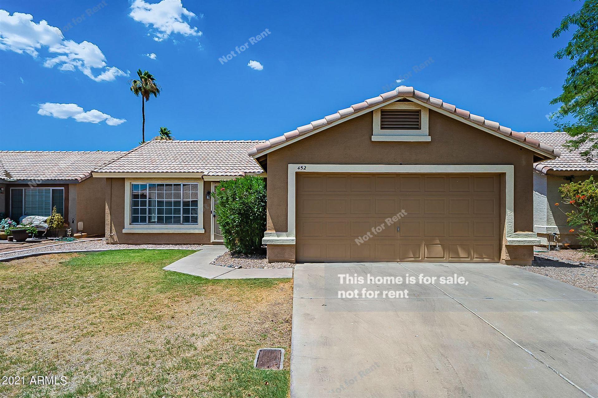 452 E HARRISON Street, Chandler, AZ 85225 - MLS#: 6256584