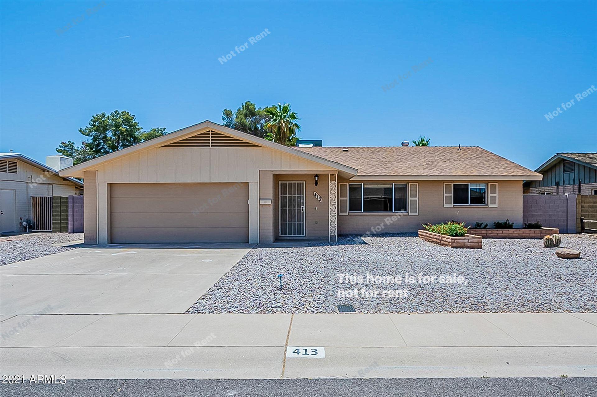 413 E FREMONT Drive, Tempe, AZ 85282 - MLS#: 6234597
