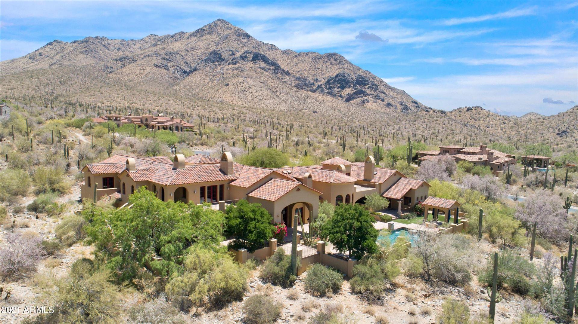 Photo of 11134 E SAGUARO CANYON Trail, Scottsdale, AZ 85255 (MLS # 6240602)