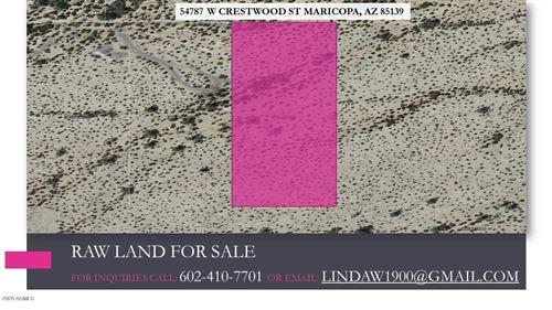 Tiny photo for 54787 W CRESTWOOD Street, Maricopa, AZ 85139 (MLS # 6148616)