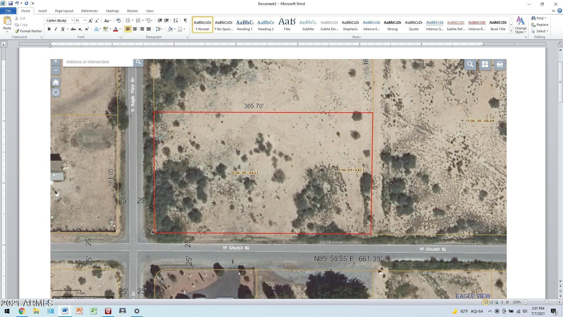 Photo of 50850 W CHURCH Street, Aguila, AZ 85320 (MLS # 6261637)