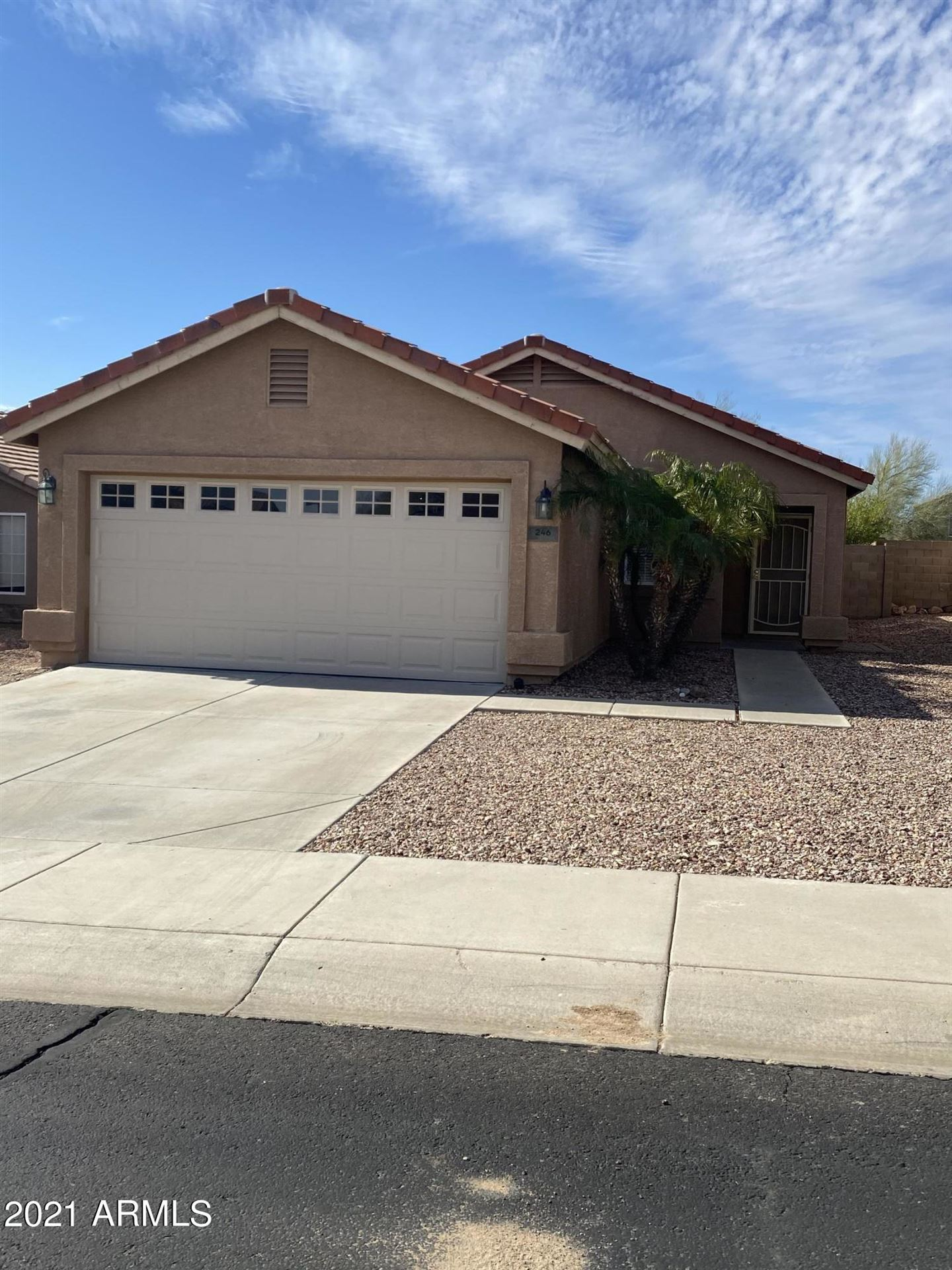 Photo of 246 N 221ST Avenue, Buckeye, AZ 85326 (MLS # 6200640)