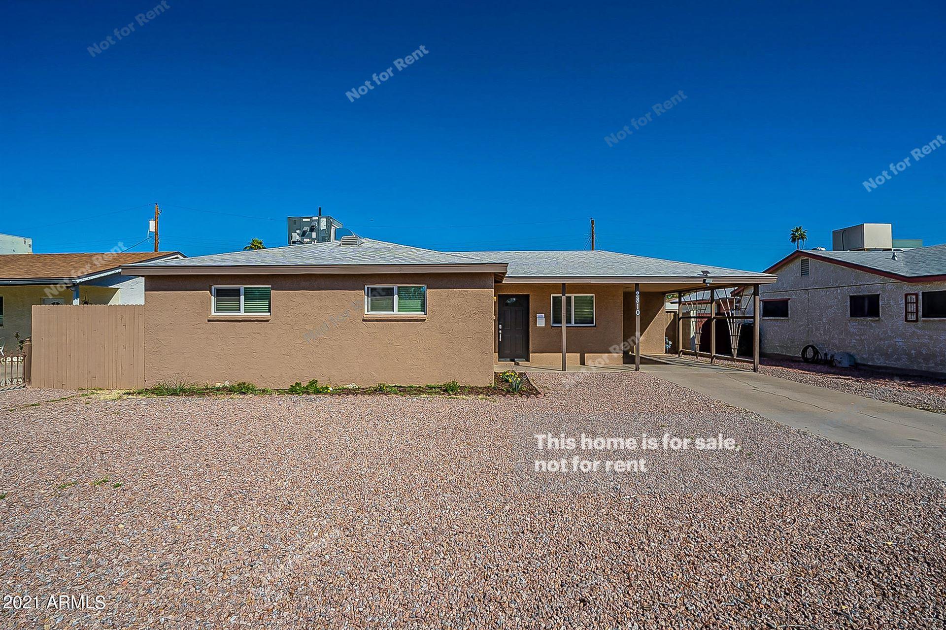 2810 W COOLIDGE Street, Phoenix, AZ 85017 - MLS#: 6198644