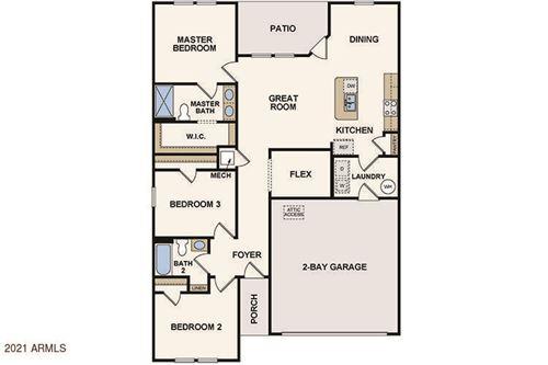Photo of 702 S 13TH Place, Coolidge, AZ 85128 (MLS # 6224646)