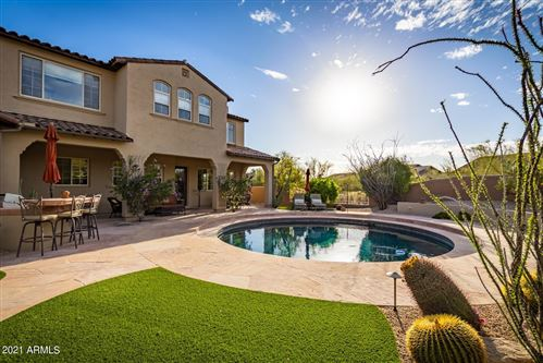 Photo of 9312 E MOUNTAIN SPRING Road, Scottsdale, AZ 85255 (MLS # 6220658)