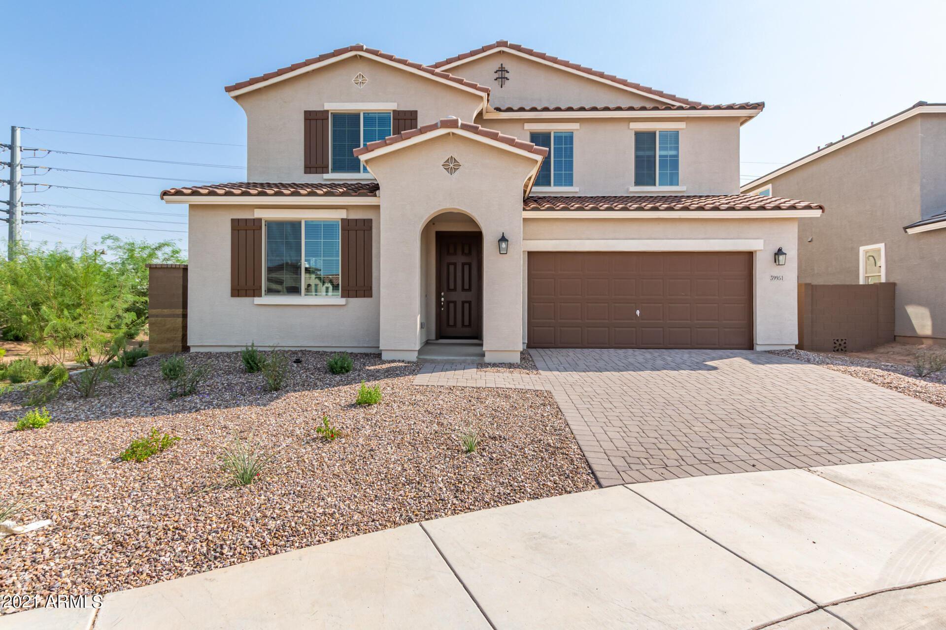 Photo for 39951 W HENSLEY Way, Maricopa, AZ 85138 (MLS # 6272677)