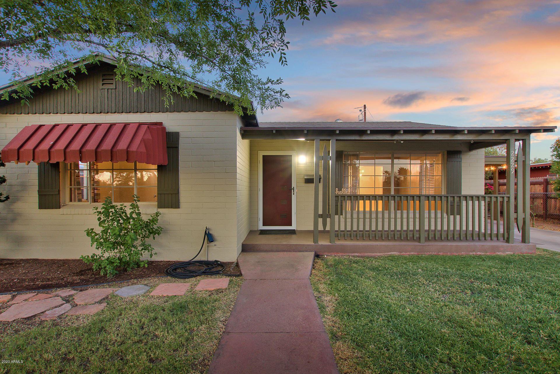 2229 N 14TH Place, Phoenix, AZ 85006 - MLS#: 6094680