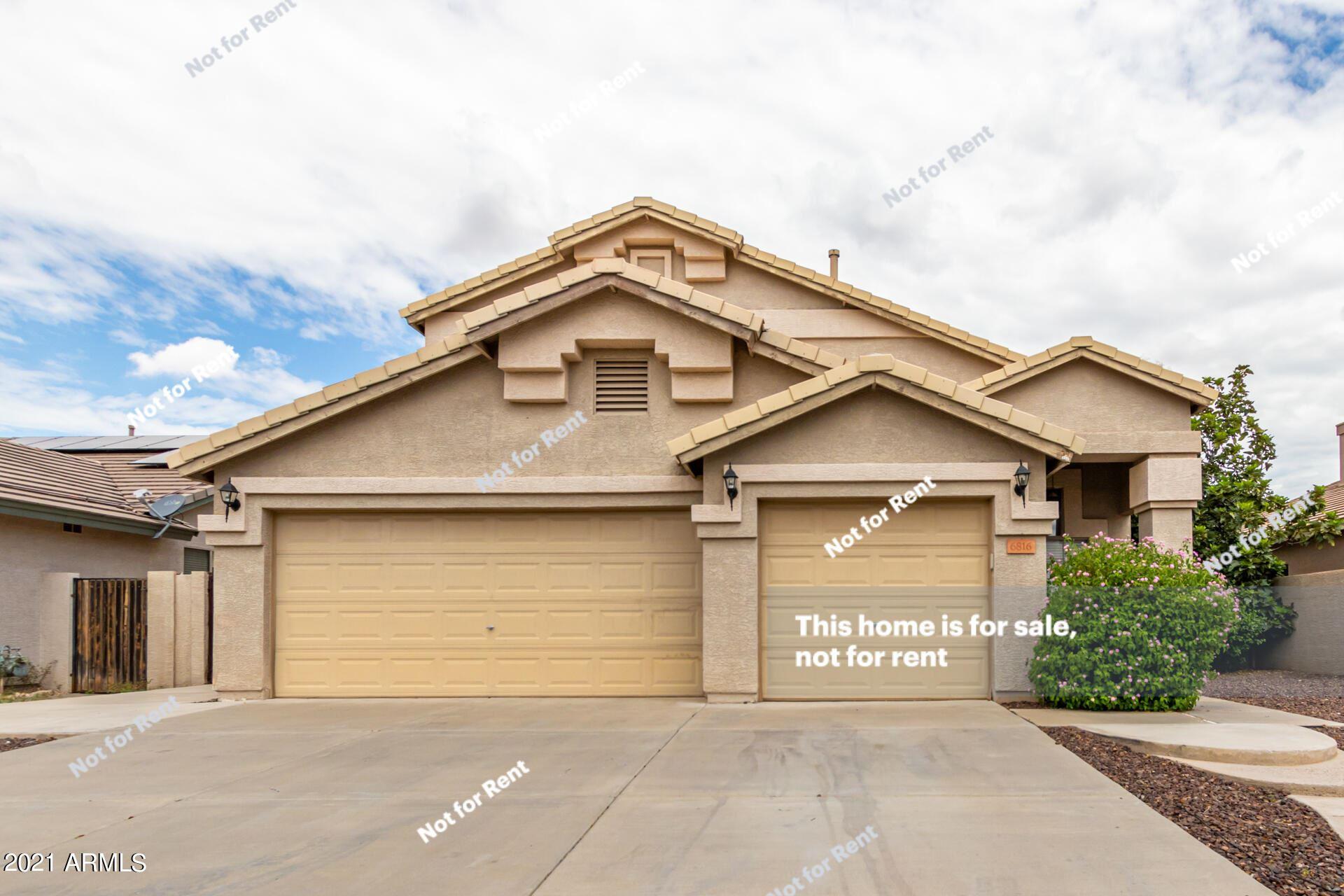 6816 W BRONCO Trail, Peoria, AZ 85383 - MLS#: 6279682