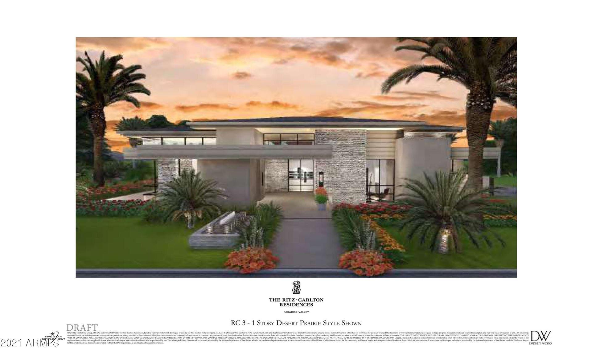 Photo of 6578 N Bella Vita Drive, Paradise Valley, AZ 85253 (MLS # 6307687)