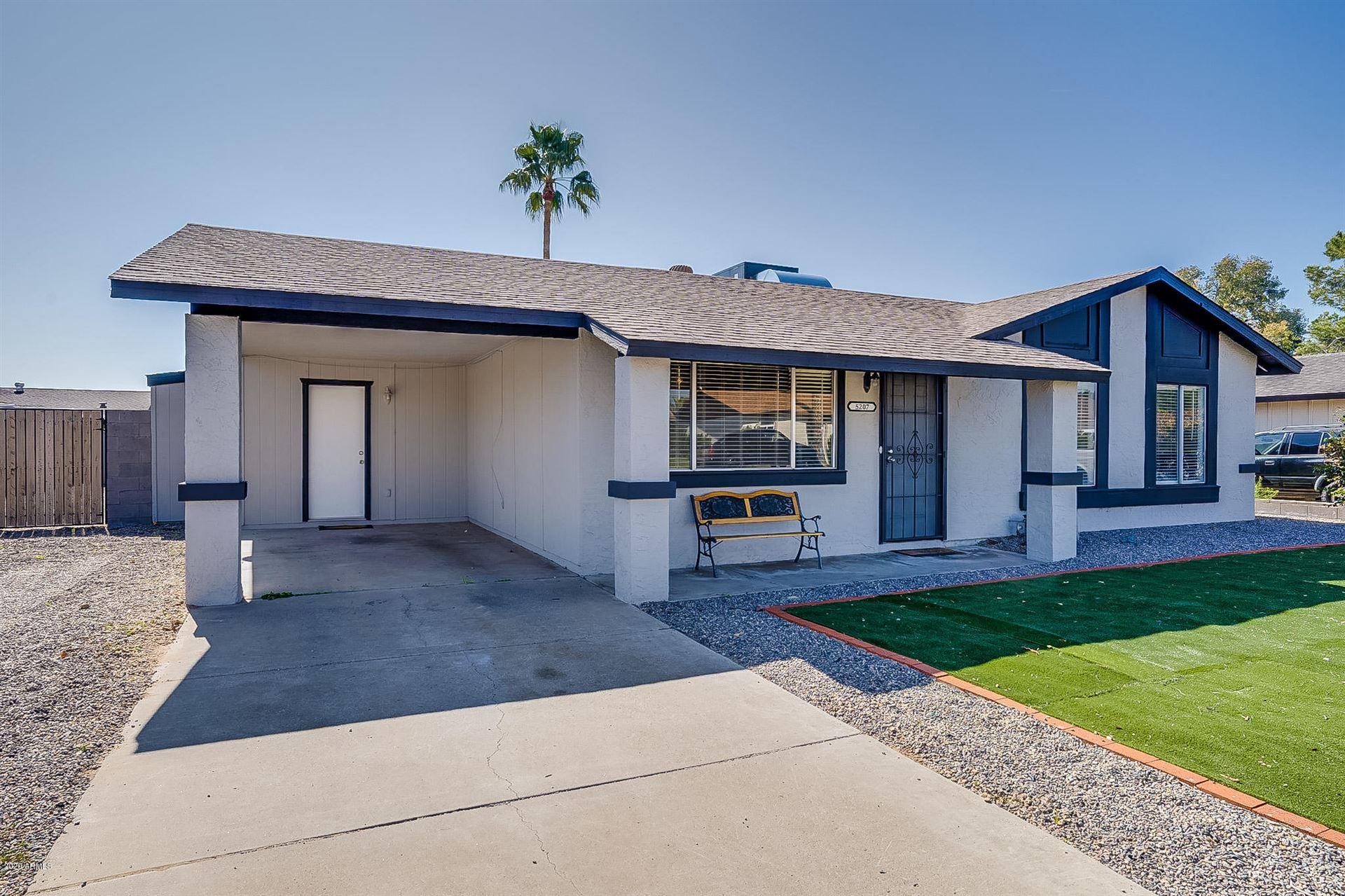 Photo of 5207 W SUNNYSIDE Drive, Glendale, AZ 85304 (MLS # 6233696)