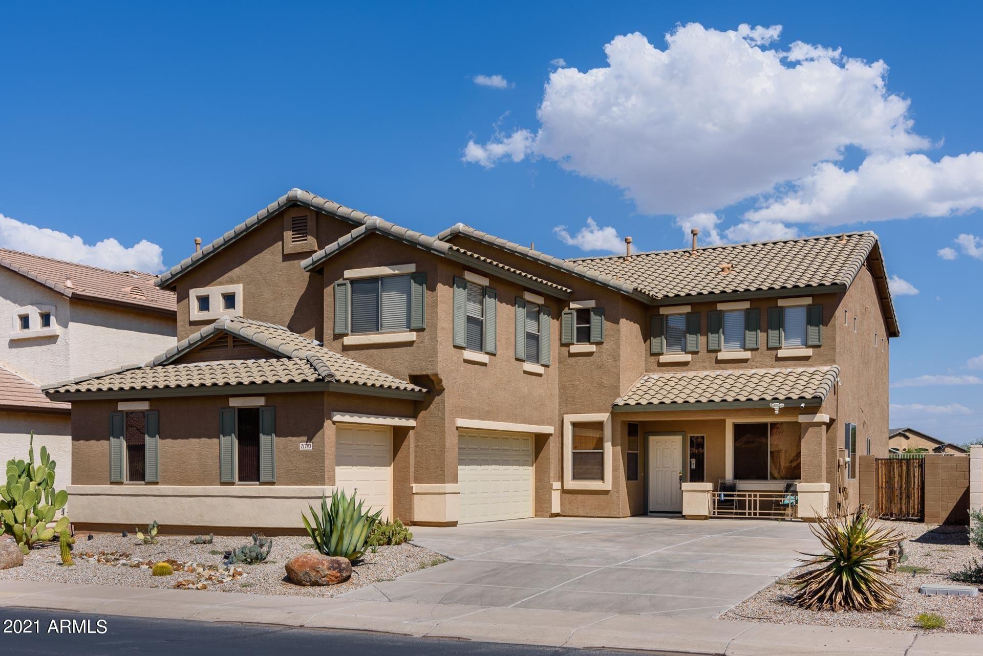 Photo for 21783 N BACKUS Drive, Maricopa, AZ 85138 (MLS # 6291702)