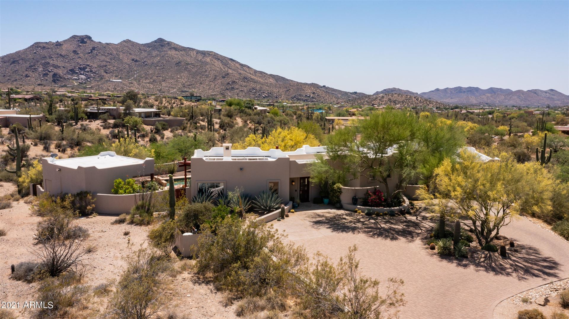 Photo of 7339 E STEVENS Road, Carefree, AZ 85377 (MLS # 6237704)
