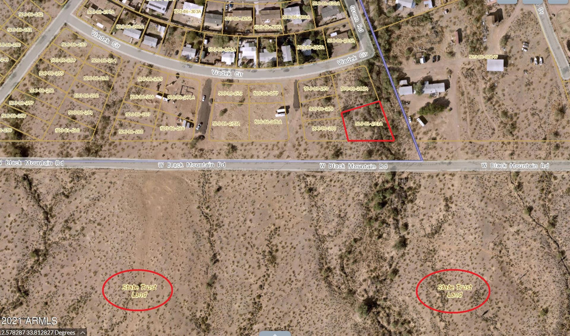 Photo of 0000 GREEN Road, Morristown, AZ 85342 (MLS # 6304714)