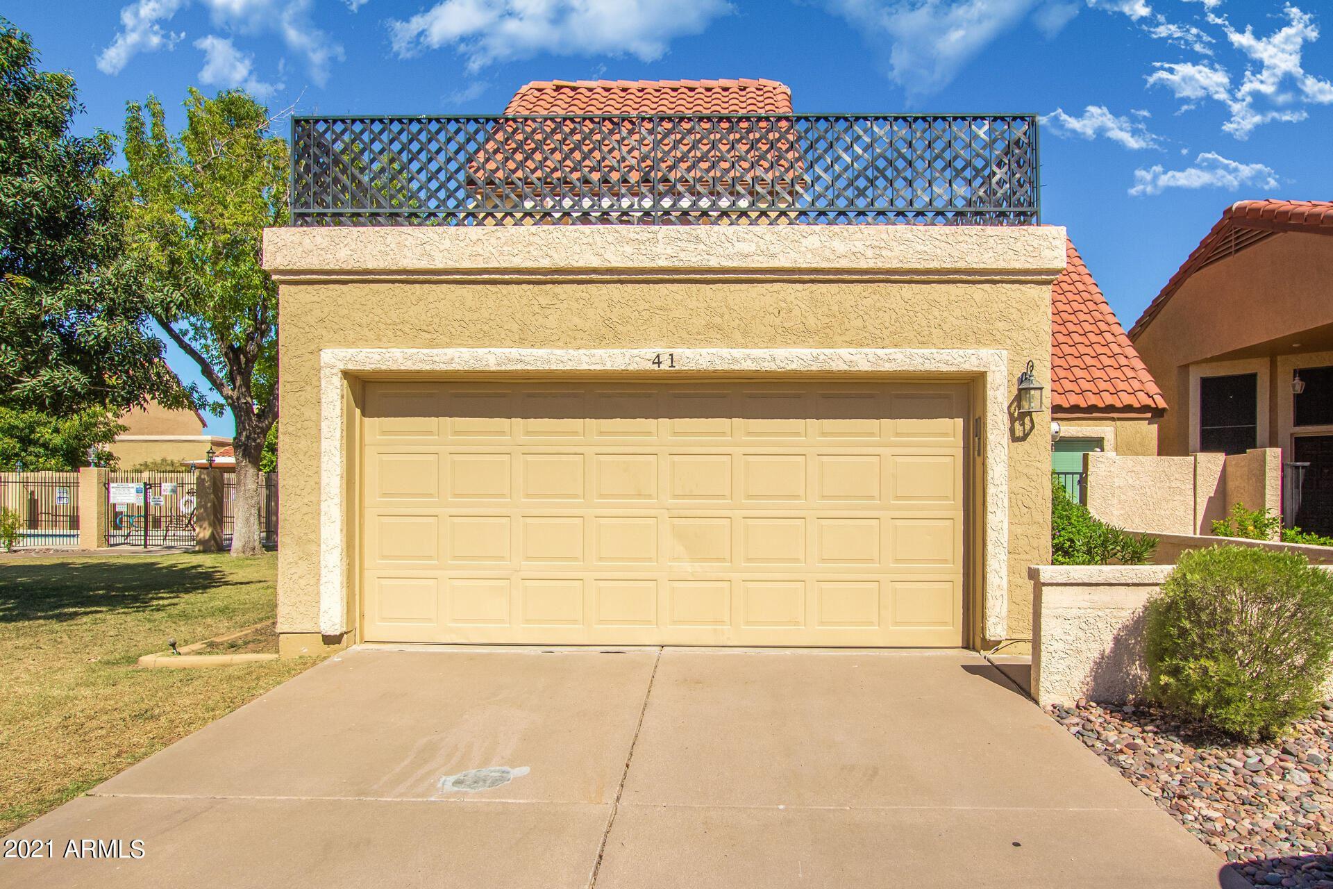 Photo of 2848 E BROWN Road #41, Mesa, AZ 85213 (MLS # 6307719)