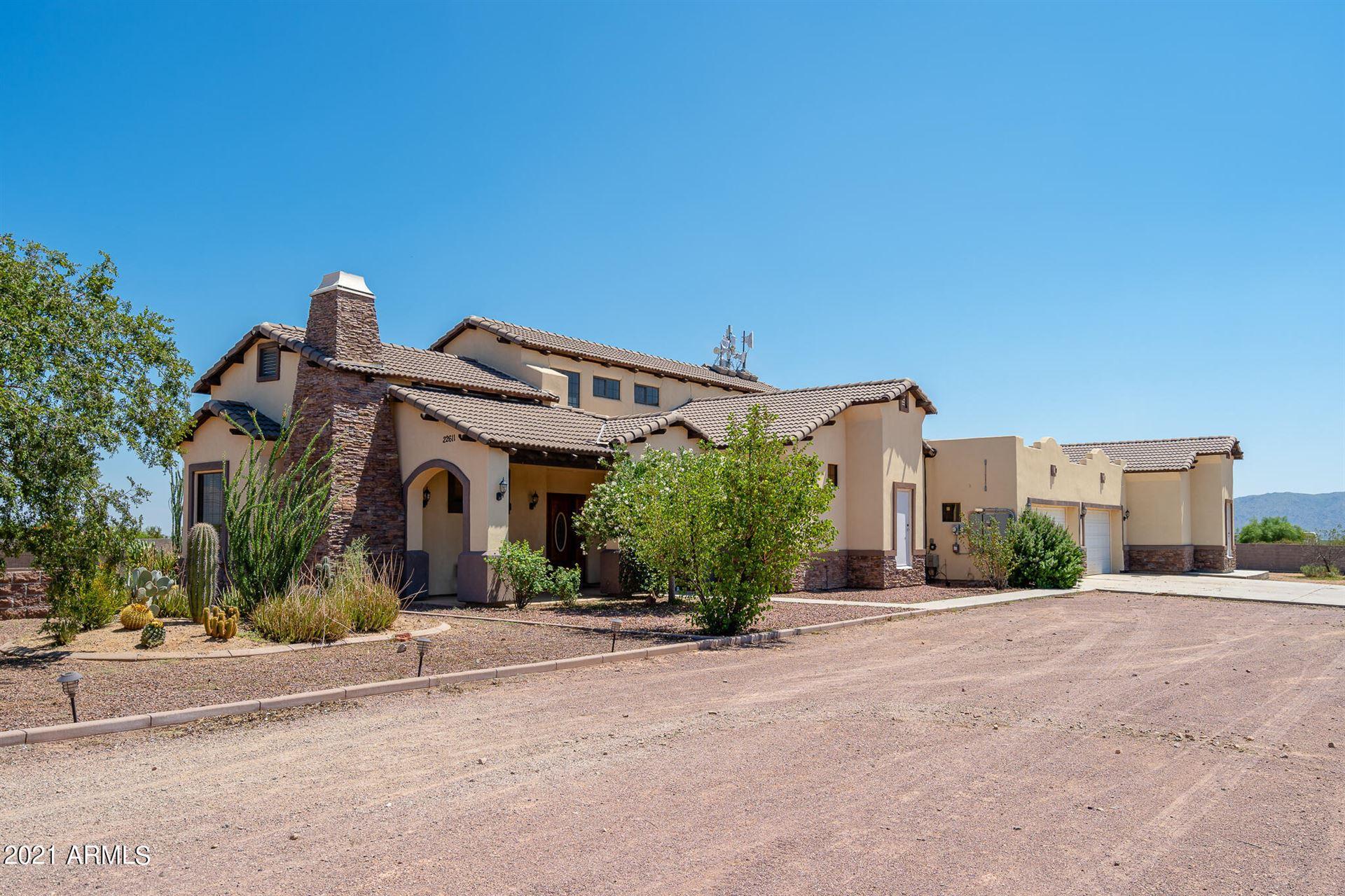 Photo of 22611 W PATTON Road, Wittmann, AZ 85361 (MLS # 6282733)