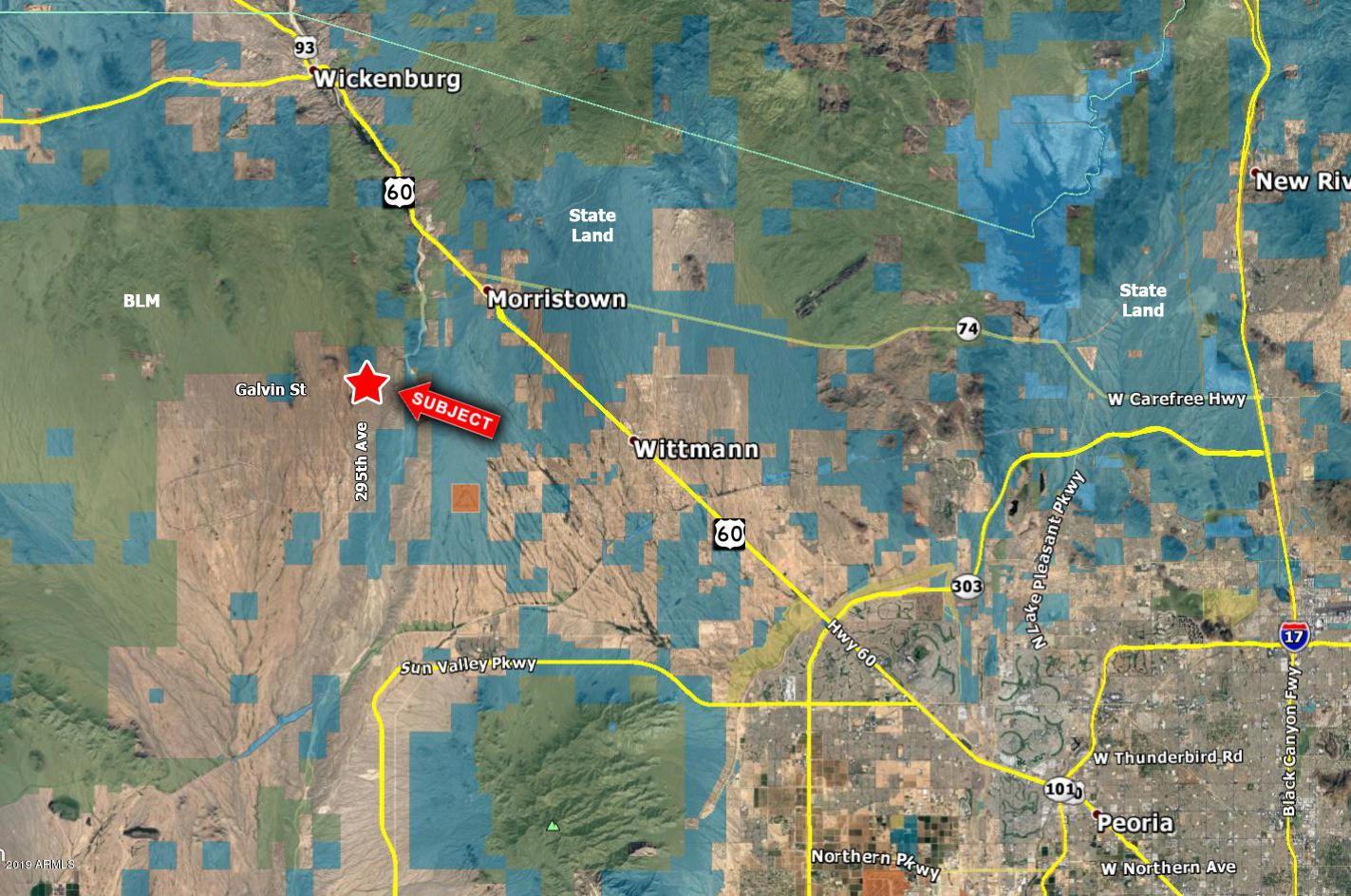Photo of 0 W Galvin Street, Wittmann, AZ 85361 (MLS # 6248740)