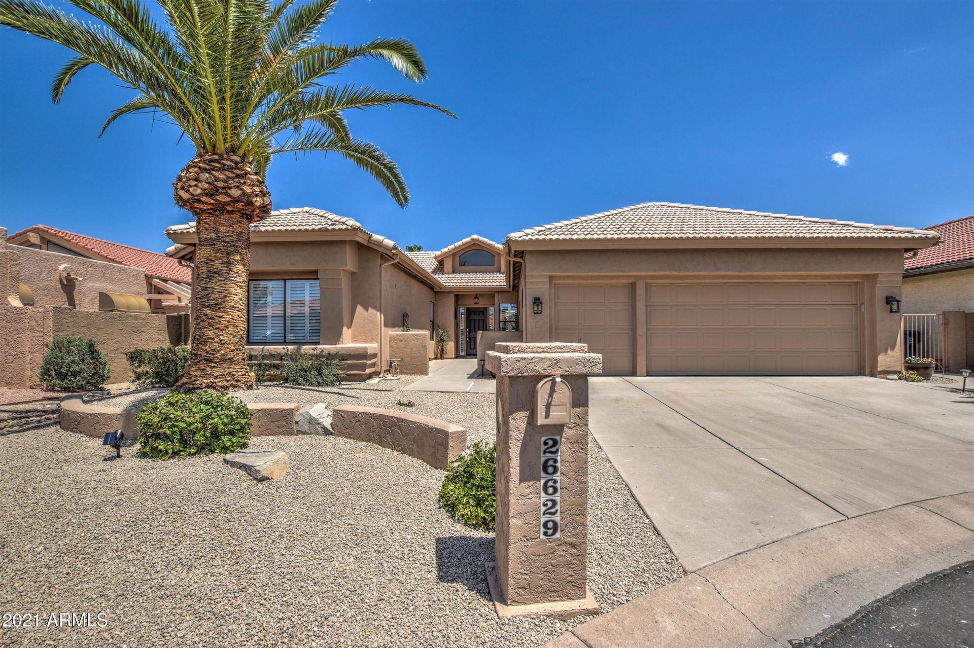 Photo of 26629 S QUEEN PALM Court, Sun Lakes, AZ 85248 (MLS # 6229748)
