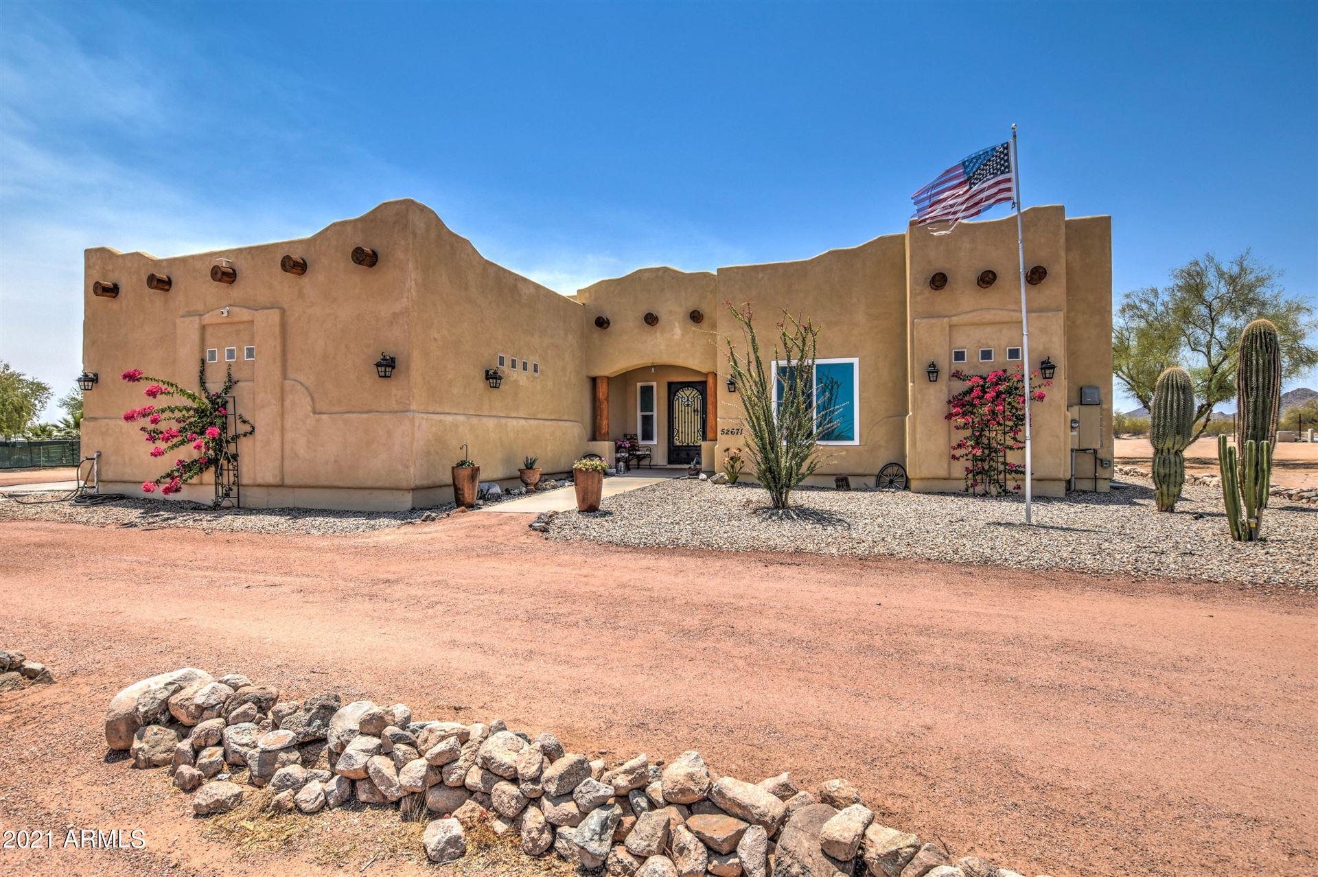Photo for 52671 W WHIRLY BIRD Road, Maricopa, AZ 85139 (MLS # 6251774)