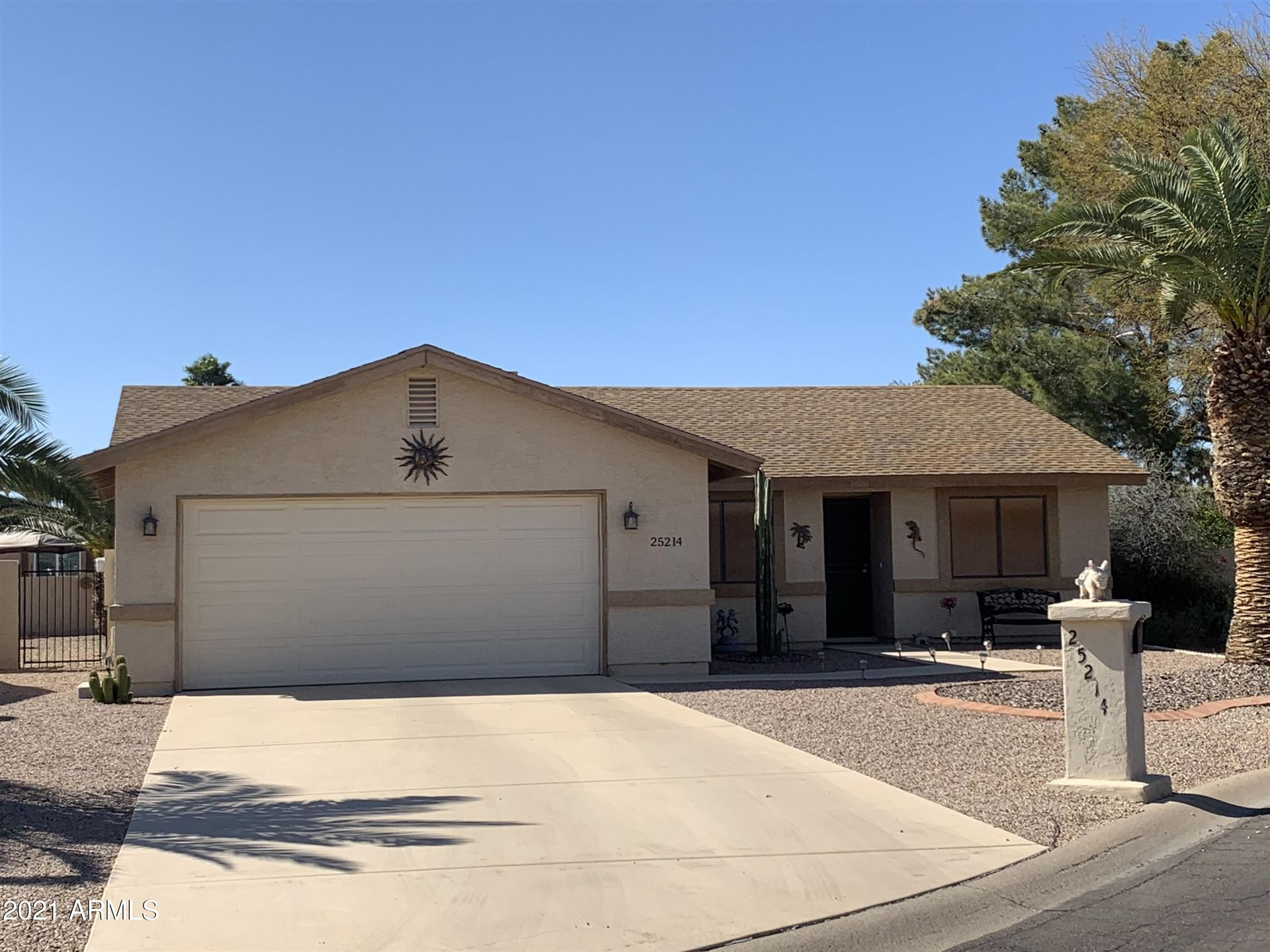 Photo of 25214 S KANSAS Avenue, Sun Lakes, AZ 85248 (MLS # 6200792)