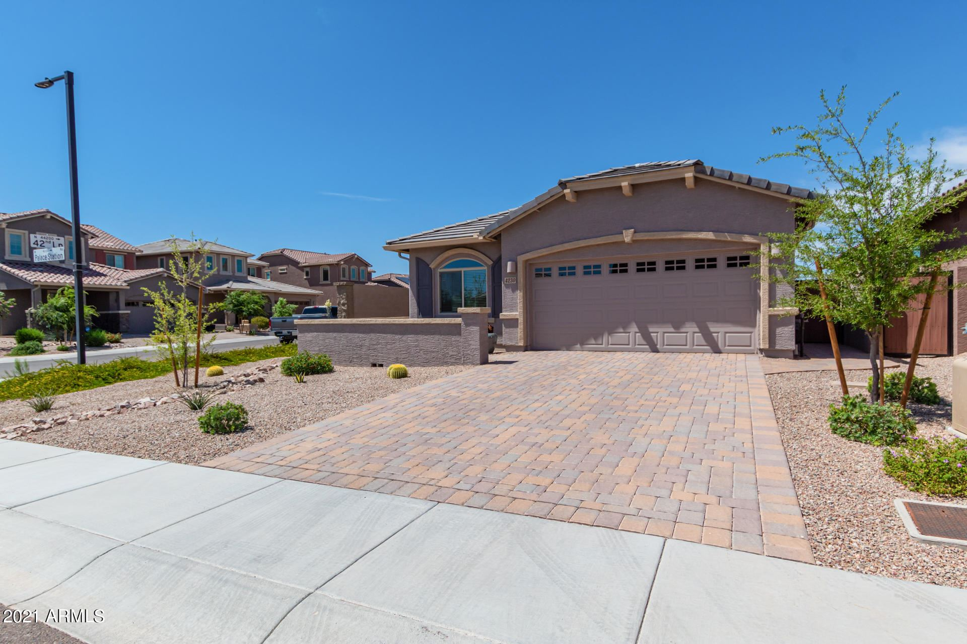 Photo of 4230 W PALACE STATION Road, New River, AZ 85087 (MLS # 6240794)