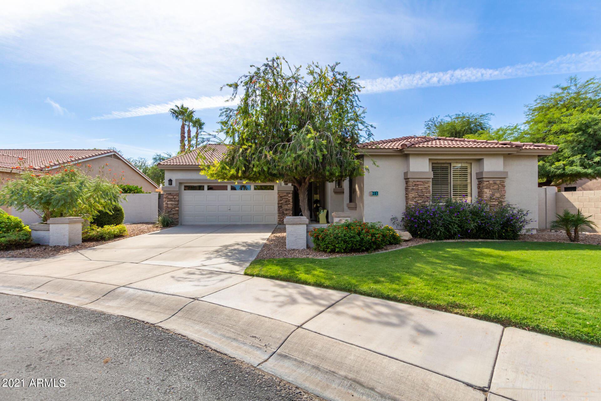 Photo of 281 W BIRCHWOOD Place, Chandler, AZ 85248 (MLS # 6310796)