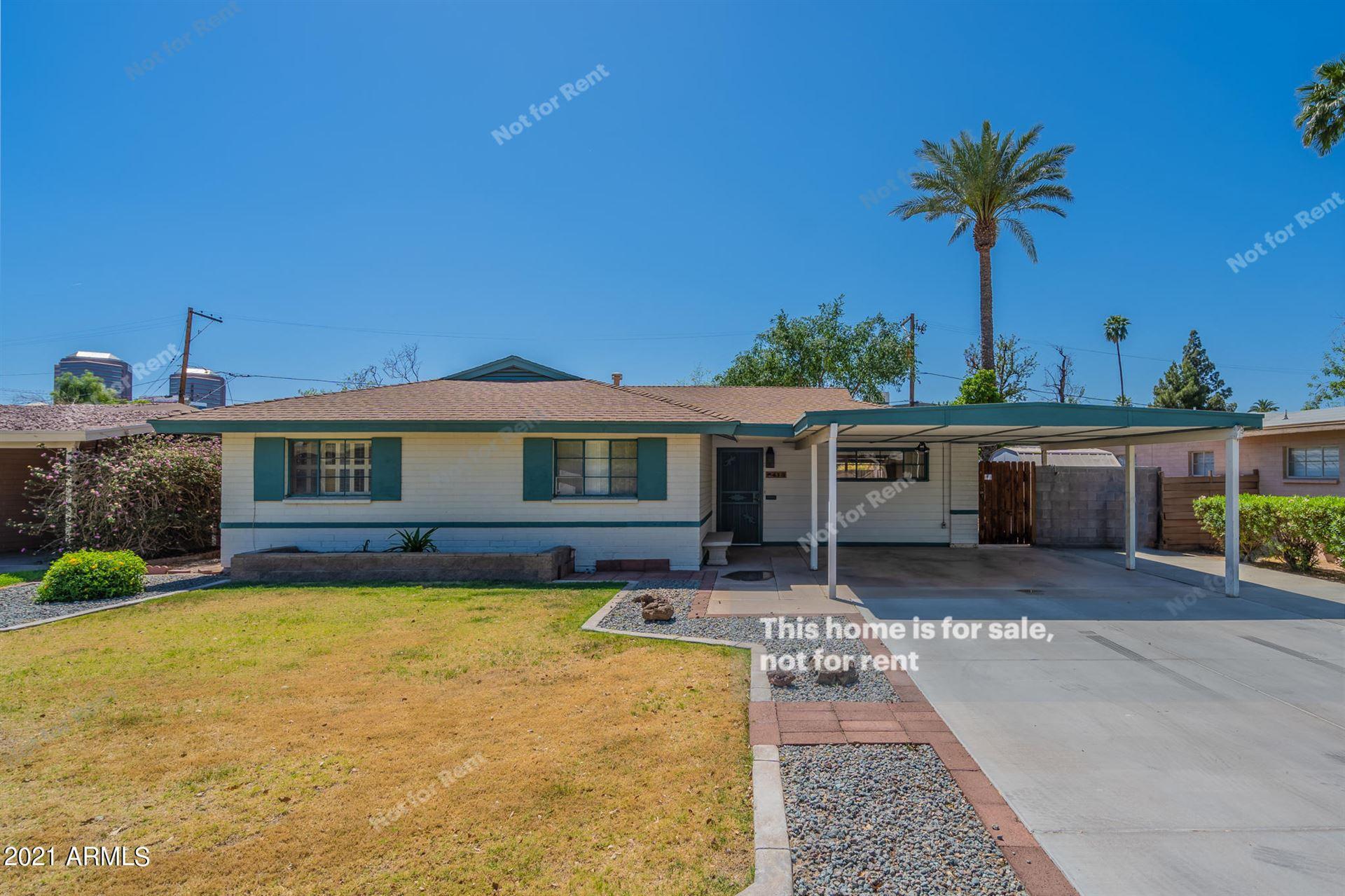 413 W FLOWER Street, Phoenix, AZ 85013 - MLS#: 6220804