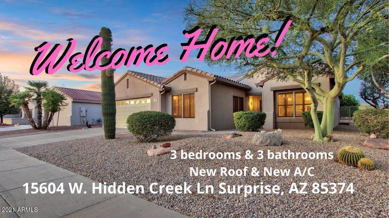 15604 W HIDDEN CREEK Lane, Surprise, AZ 85374 - MLS#: 6233819