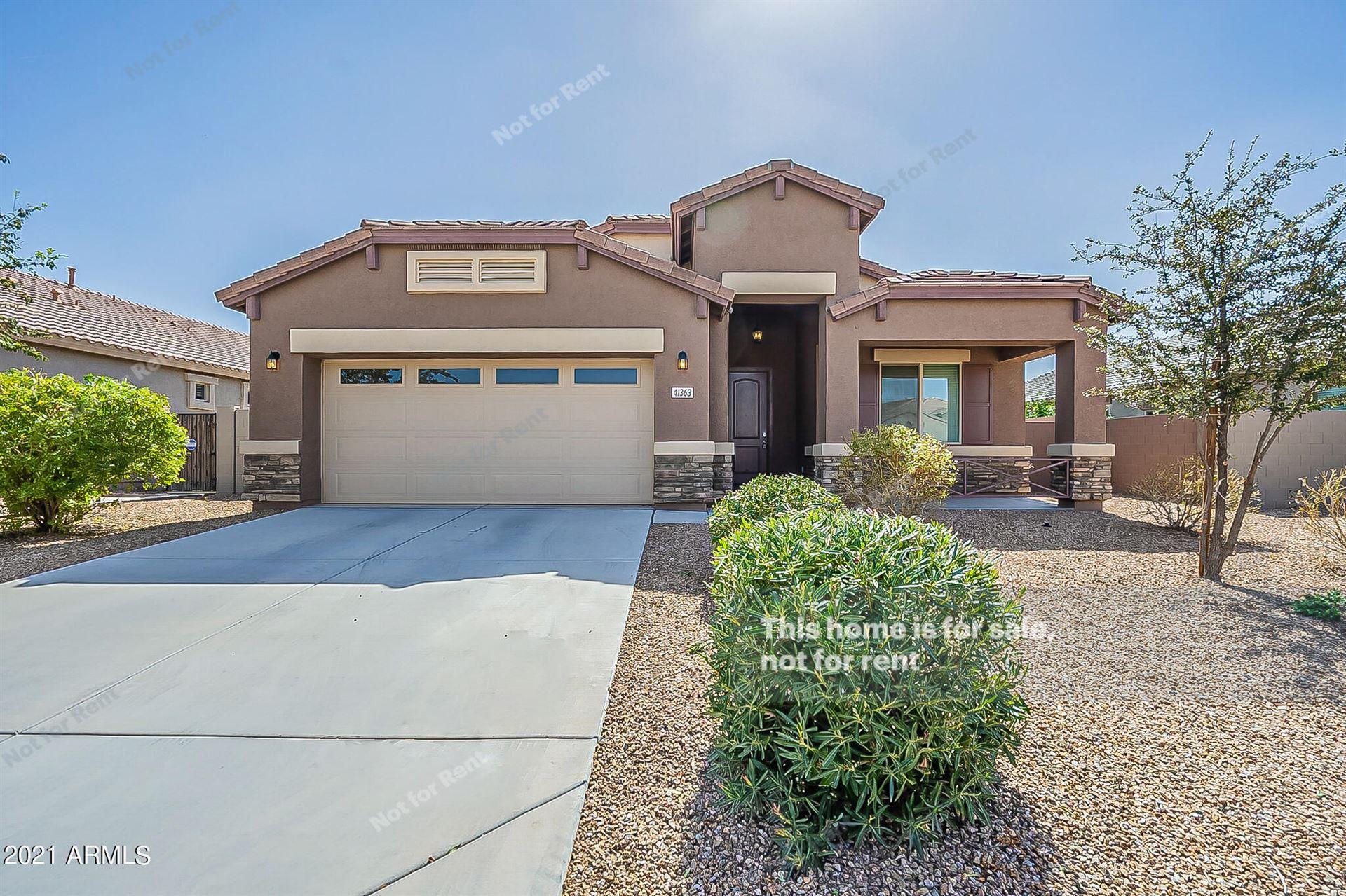 Photo of 41363 W GANLEY Way, Maricopa, AZ 85138 (MLS # 6306824)
