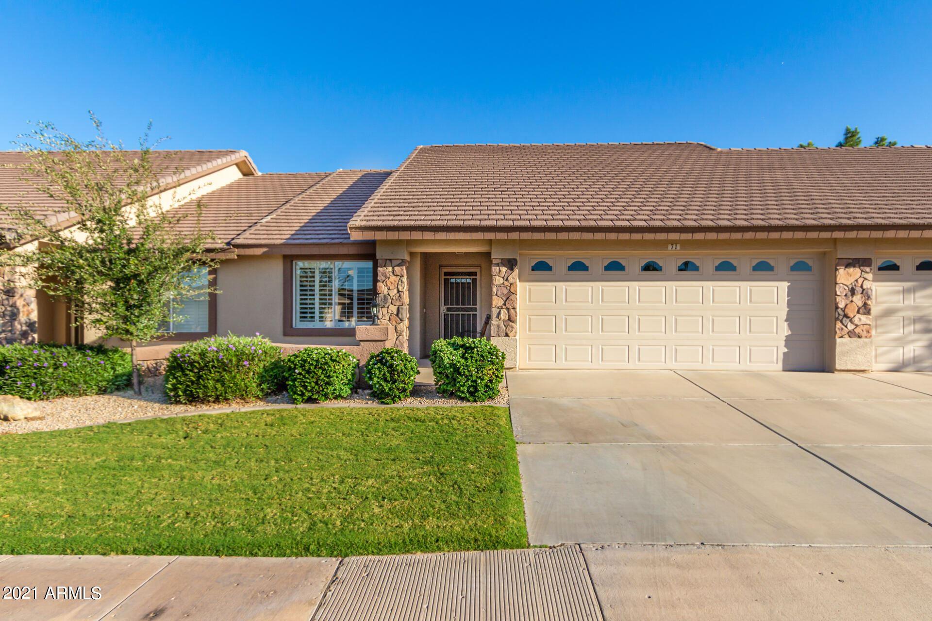 Photo of 11360 E KEATS Avenue #71, Mesa, AZ 85209 (MLS # 6307838)