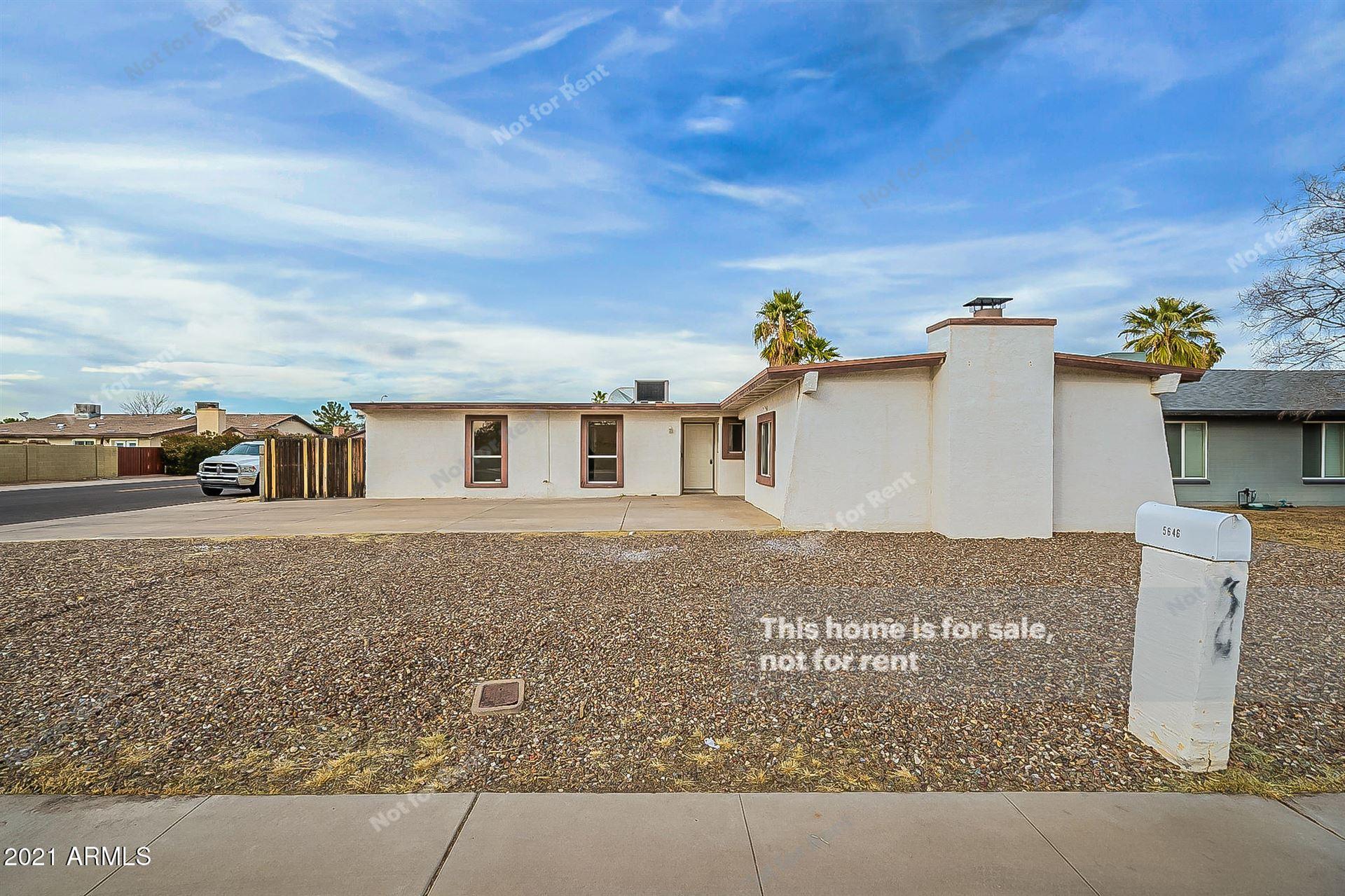 5646 W PALO VERDE Avenue, Glendale, AZ 85302 - MLS#: 6178845