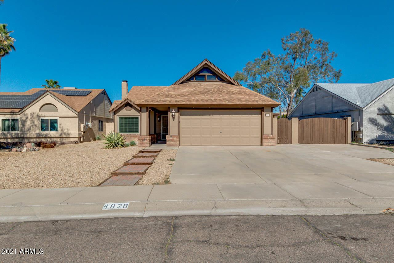 Photo of 4920 W WESCOTT Drive, Glendale, AZ 85308 (MLS # 6200851)