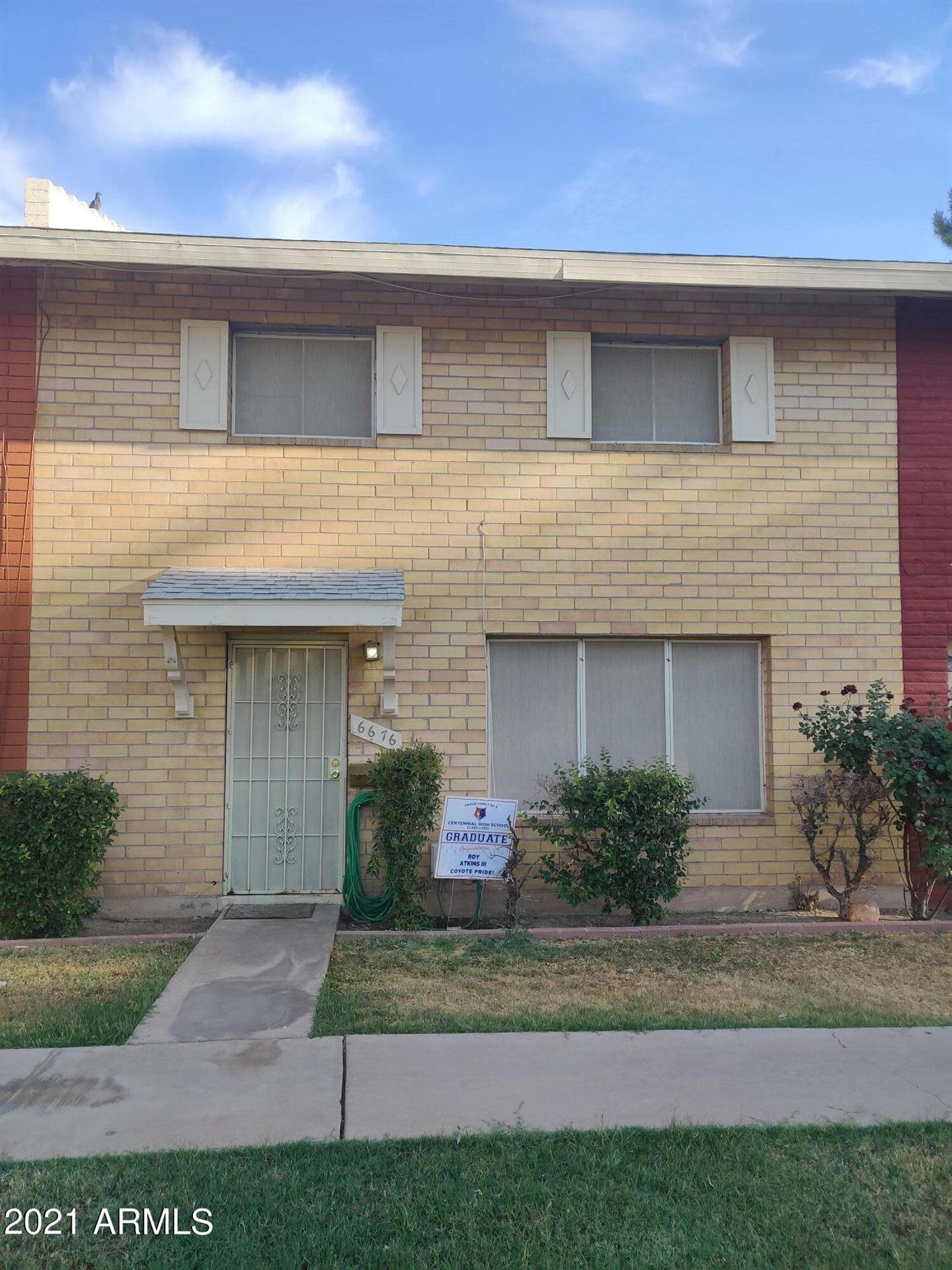 6676 N 43RD Avenue, Glendale, AZ 85301 - MLS#: 6246856