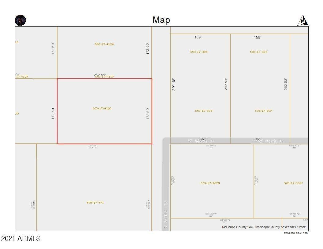 Photo of 315XX N 233rd Ave --, Wittmann, AZ 85361 (MLS # 6196858)