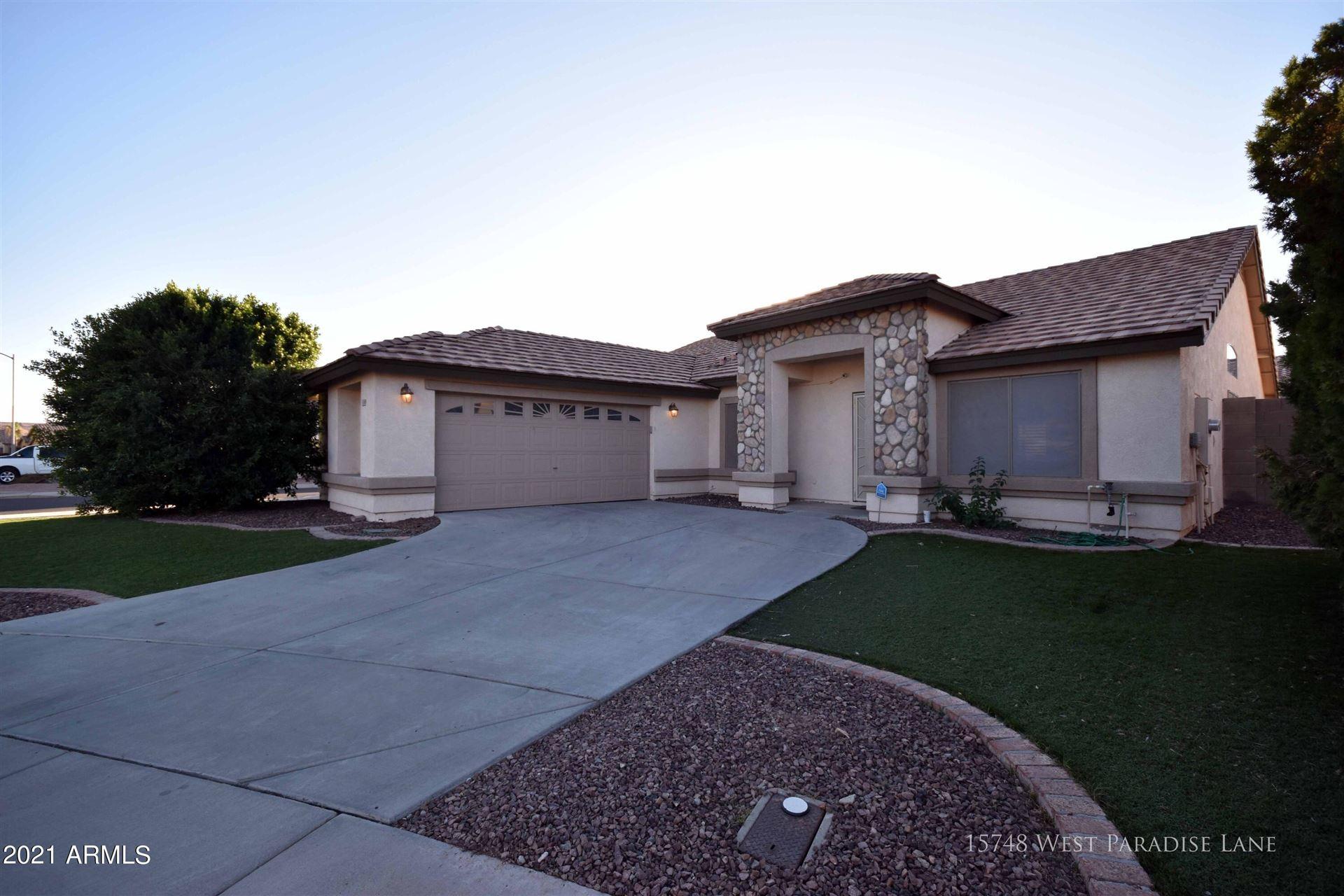 Photo of 15748 W PARADISE Lane, Surprise, AZ 85374 (MLS # 6295944)