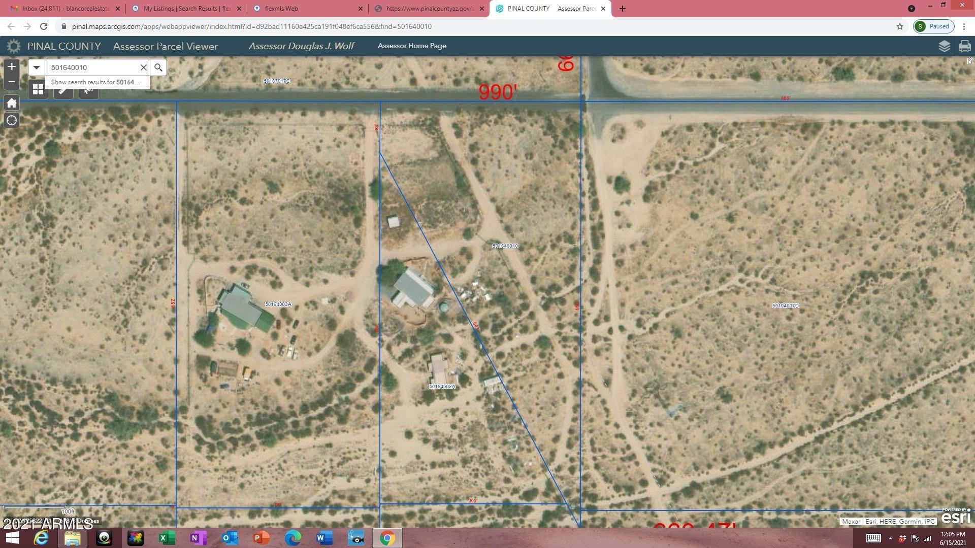 Photo for 0 W Barnes Street, Maricopa, AZ 85138 (MLS # 6250960)