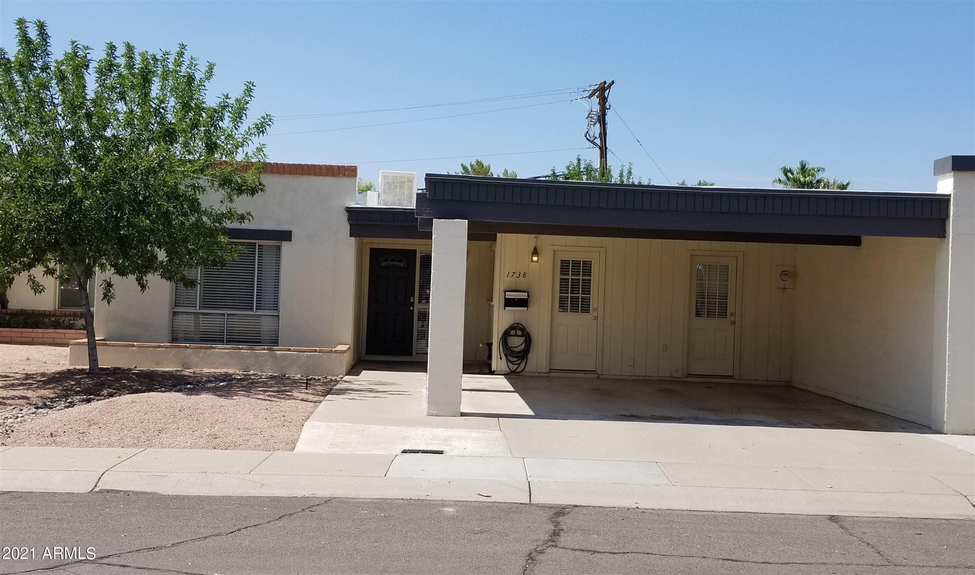 1738 E GAYLON Drive, Tempe, AZ 85282 - MLS#: 6268994