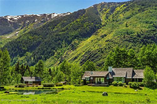 Photo of 5387 Castle Creek Road, Aspen, CO 81611 (MLS # 145229)