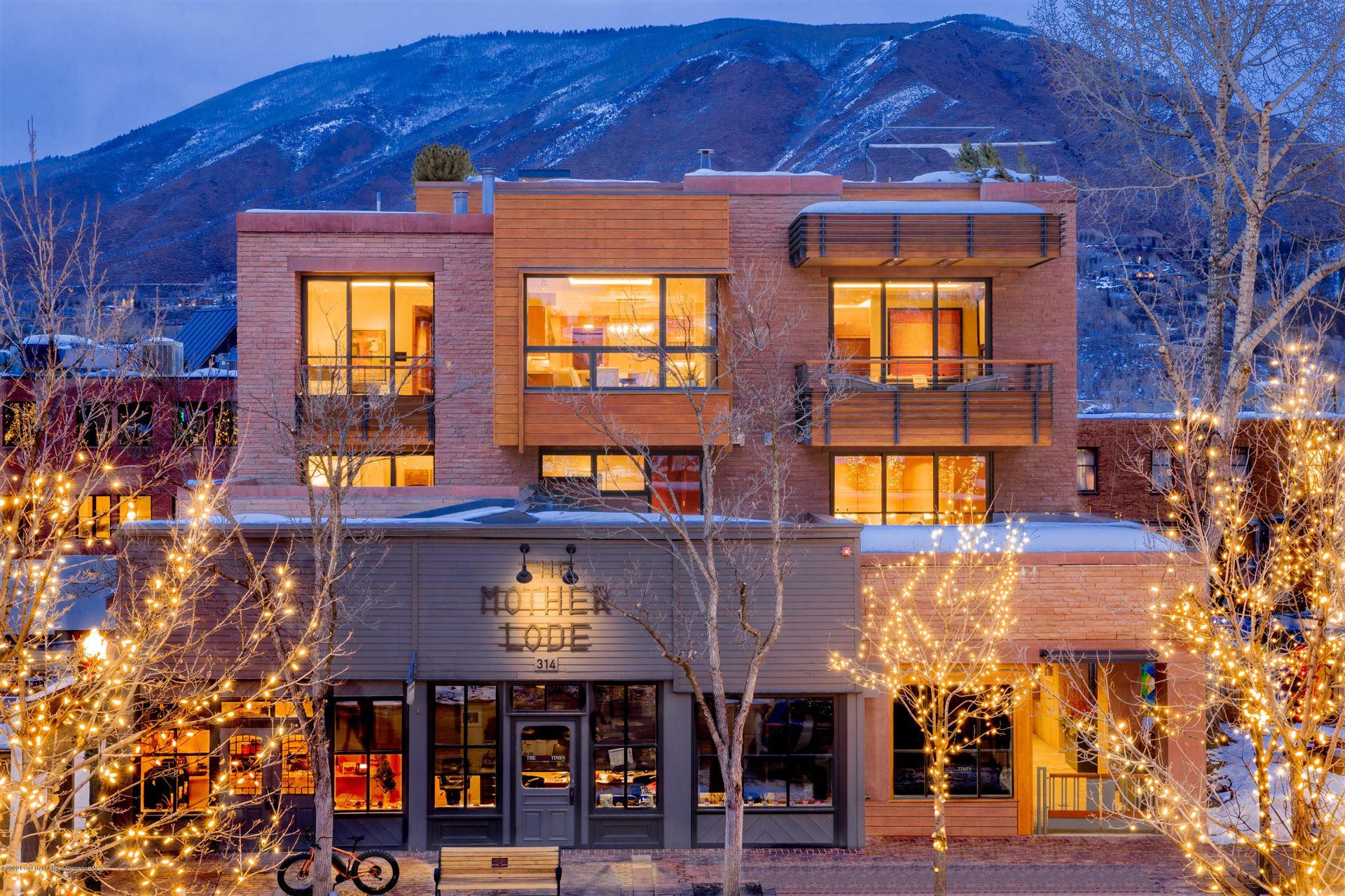 314 E Hyman Avenue, Aspen, CO 81611 - MLS#: 160234